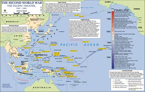pacific war map map pacific theater 1941 1945 world war ii history