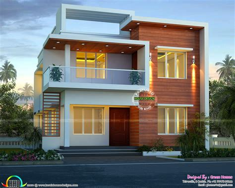 unique stylish trendy indian house elevation kerala cute modern house architecture elevation for house