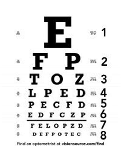 Snellen Chart Black Printing best 25 eye chart ideas on eye chart