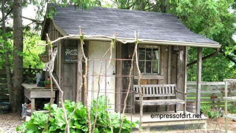 A Garden Shed by Charming Garden Sheds From Rustic To Modern Empress Of Dirt