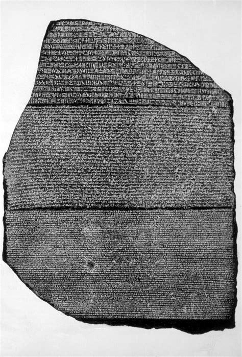 rosetta stone egypt the rosetta stone basalt slab photograph by everett