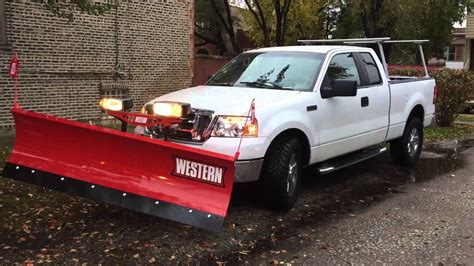 ford   snow plow youtube