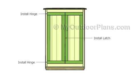 Fitting A Front Door 2x4 Lean To Shed Plans Myoutdoorplans Free Woodworking Plans And Projects Diy Shed Wooden