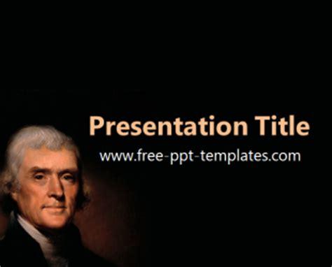 Jefferson Powerpoint Template Thomas Jefferson Ppt Template Free Powerpoint Templates
