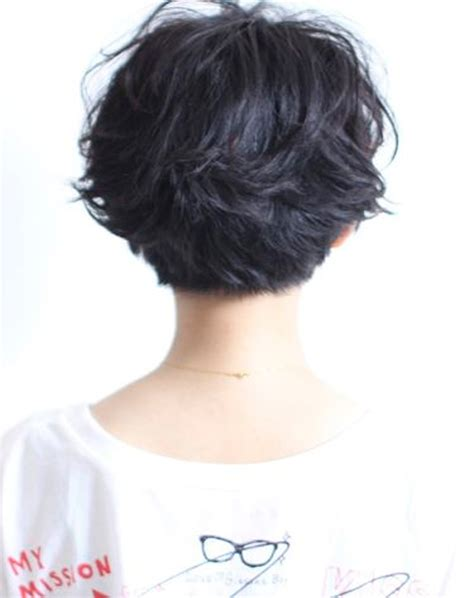 chicos model hair short layered haircuts back view styles time