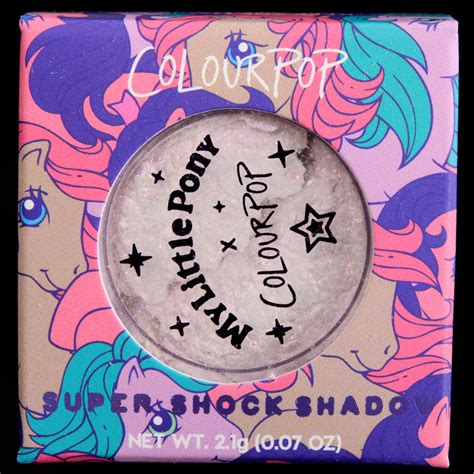 Colourpop Shock Shadow Posey colourpop x my pony shock shadows reviews