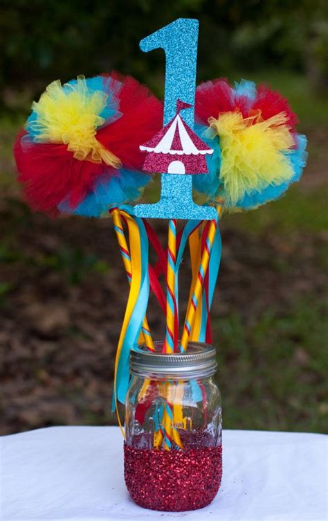 best 25 carnival centerpieces ideas only on