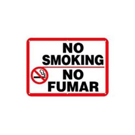 no smoking sign english and spanish sign details incorporated no smoking signs english spanish