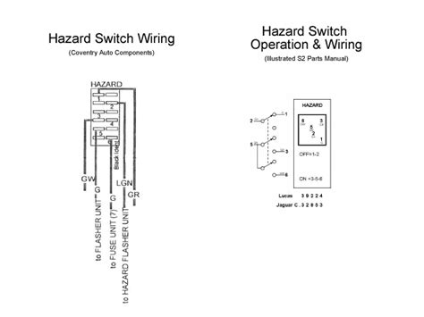 vw bug emergency flasher wiring diagram vw free engine