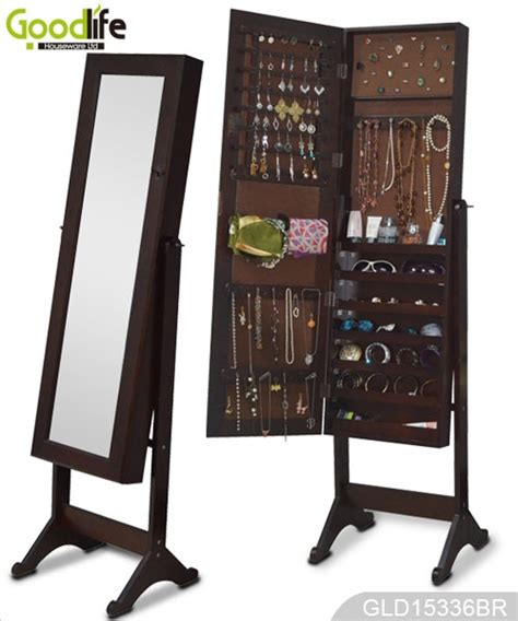 ebay vendita ebay vendita calda in piedi in legno a specchio armadio