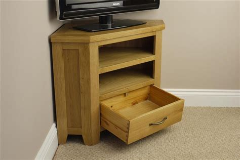 Small Corner Drawer Unit by Chelsea Oak Small Corner Tv Dvd Unit Stand With