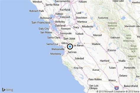 earthquake gilroy earthquake 3 9 quake strikes near gilroy latimes
