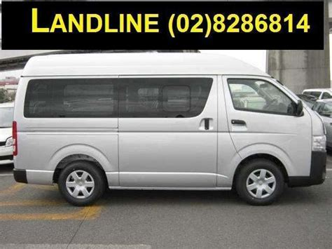 when is the cheapest time to rent an apartment van manila 8 cheapest van used cars in manila mitula cars