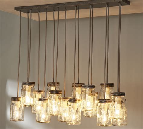 18 Diy Mason Jar Chandelier Ideas Guide Patterns Diy Dining Room Lighting Ideas