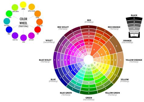 color wheel scheme colors in web design and why to choose them