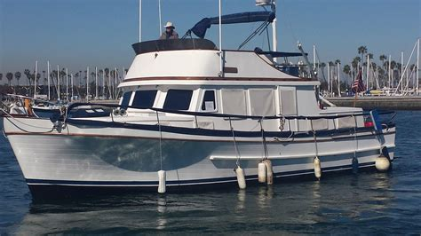 boat trader long beach ca 1978 marine trader aft cabin power boat for sale www