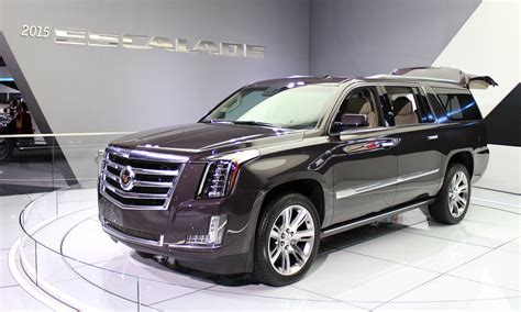 new 2015 cadillac escalade 2015 cadillac escalade more power luxury efficiency