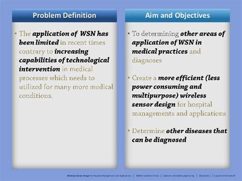 design brief for hospital slides on the wireless sensor design for hospital