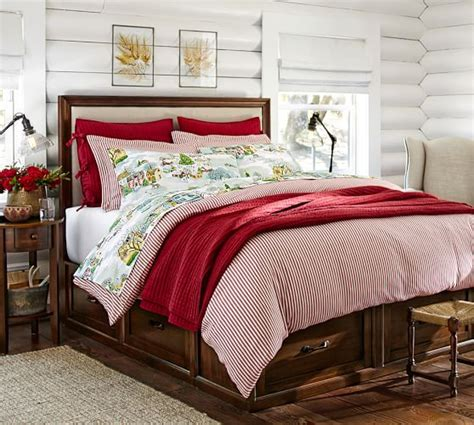 ticking bedding thatcher ticking stripe duvet cover sham pottery barn