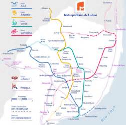 Lisbon Subway Map by Lisbon