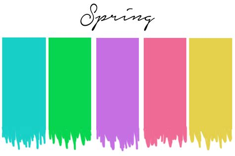 spring color palette seasonal color analysis dressing your skin tone one