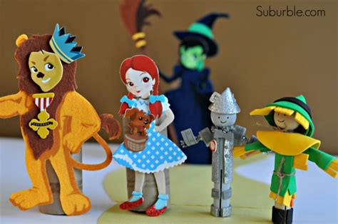 wizard of oz crafts for we re to see the wizard suburble
