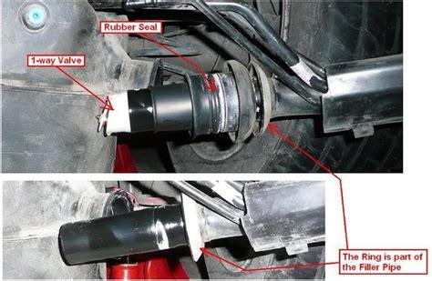 diy   gasket  gas tank filler pipe
