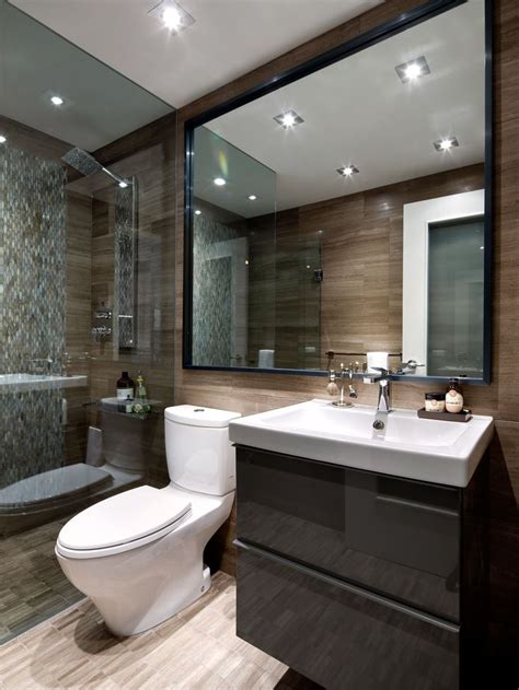 contemporary small bathroom design condo bathroom designed by toronto interior design