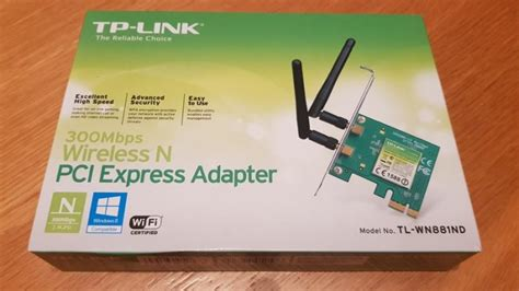 Tp Link 781nd Wireless N Pci Express Card 150mbps tp link network card wireless n pci express 300 mbps for sale in fairview dublin from nighthawks