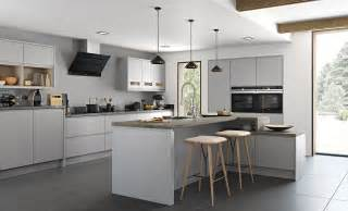 Strada Umbria Matte Light Grey Dust Grey Kitchen Adornas Kitchens » Modern Home Design