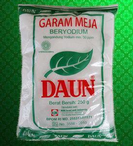 Garam Lekoh garam kemasan konsumsi wahana persada