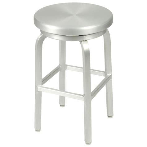 bar stool aluminum miller counter stool aluminum bar stools
