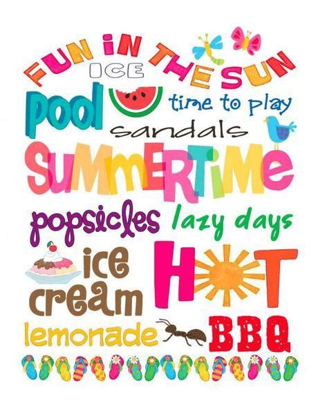 printable summer quotes free printable friday summer subway art paperblog
