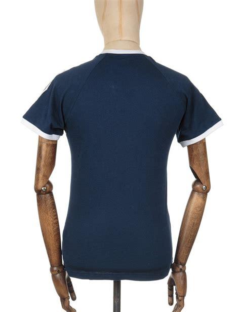 Tshirt Adidas Reutro Navy adidas originals retro trefoil logo t shirt collegiate