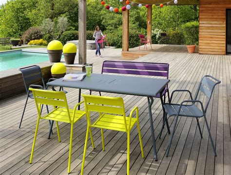 mobilier jardin fermob fermob outdoor lounge furniture for interieur