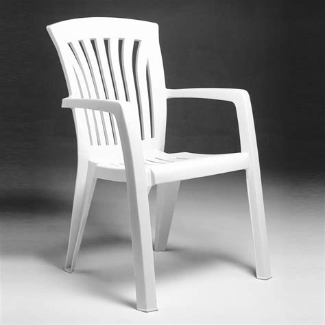 sedie da giardino plastica sedia in plastica da giardino diana nardi