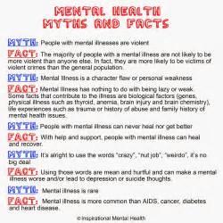 mental illness myths about mental illness