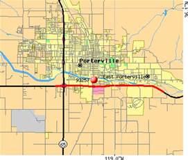 porterville california map 93257 zip code porterville california profile homes