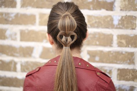 cute girl hairstyles valentine s day cute heart ponytail valentine s day hairstyles cute