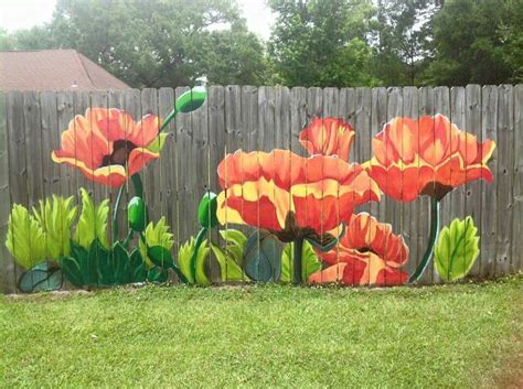 Garden Fencing Ideas Do Yourself 25 Ideas For Decorating Your Garden Fence Diy Backyard Rivers And Pearls