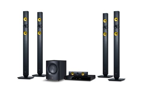 Home Theater Lg Bh 6330 smart 3d ray home theater with aramid fiber