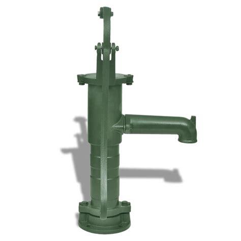 tuin waterpomp vidaxl nl gietijzeren tuin hand waterpomp