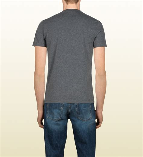 Jmp Dress Guccie Limited Edition gucci limited edition flag tshirt in gray for lyst