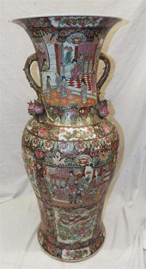 Oriental Floor Vases Oriental Porcelain Floor Vase