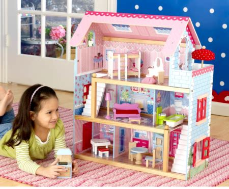 hot 45 89 reg 140 cottage dollhouse free shipping
