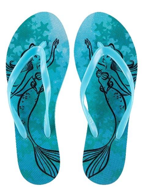 mermaid slippers for adults disney flip flops for ariel mermaid