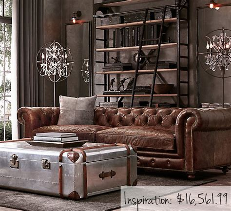 Rustic Luxe Living Room by The Look For Less Rustic Glam Living Room Hm Etc