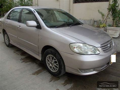 2003 Toyota Corolla For Sale Toyota Corolla Cars For Sale In Karachi Verified Car Ads