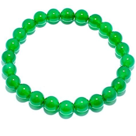 Natural Genuine Green Agate Jade Gem Bead, maxin 8MM