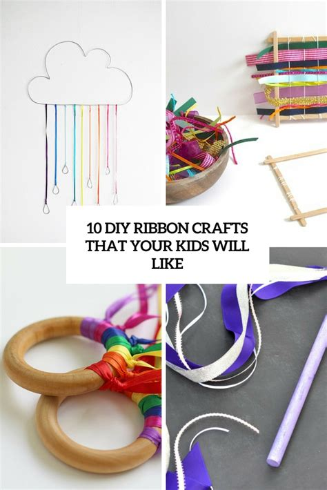 ribbon crafts 10 diy ribbon crafts that your will like shelterness